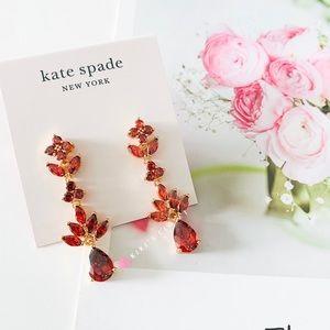 ❗️LAST ONE❗️Kate Spade Ruby Statement Earrings